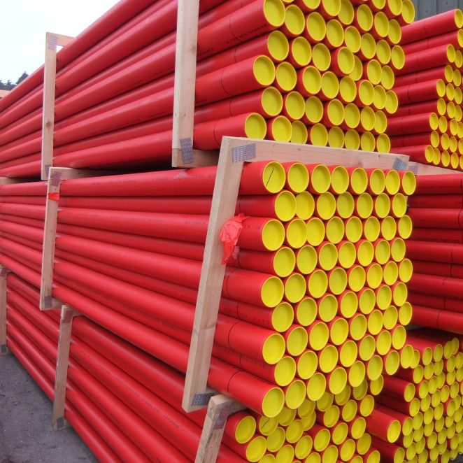 Red ESB Ducting lengths